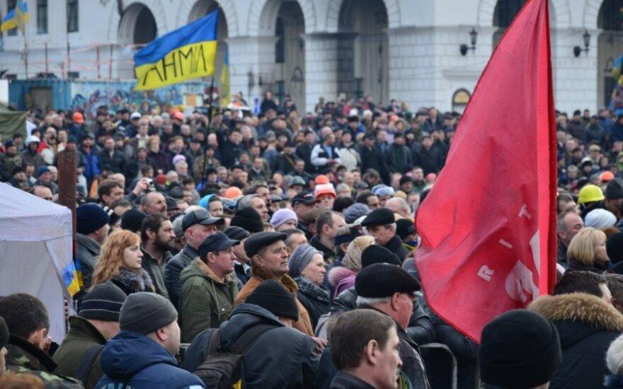 Maskvos teismas valdžios pasikeitimą Ukrainoje įvertino kaip perversmą