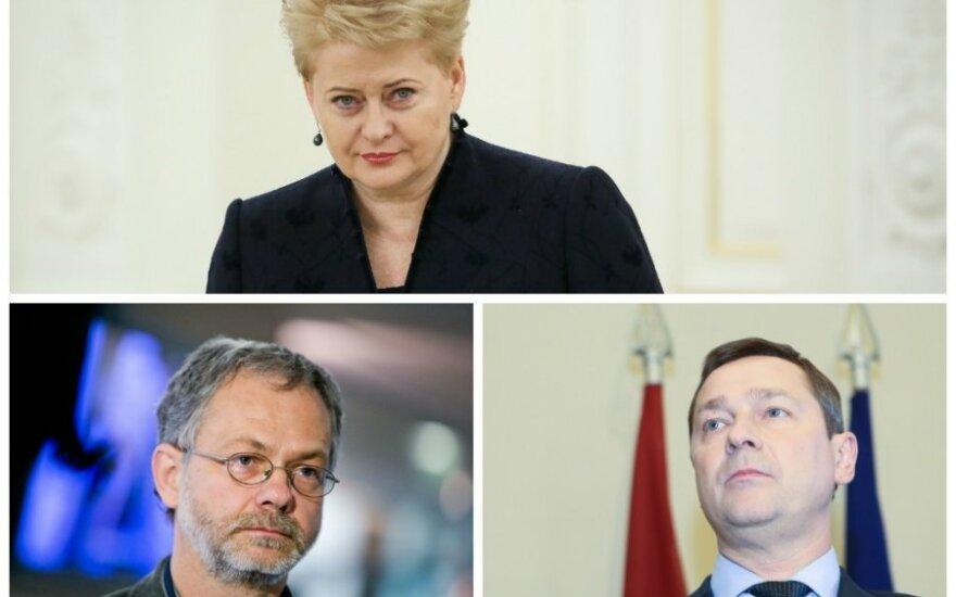 Dalia Grybauskaitė, Linas Balsys, Artūras Zuokas