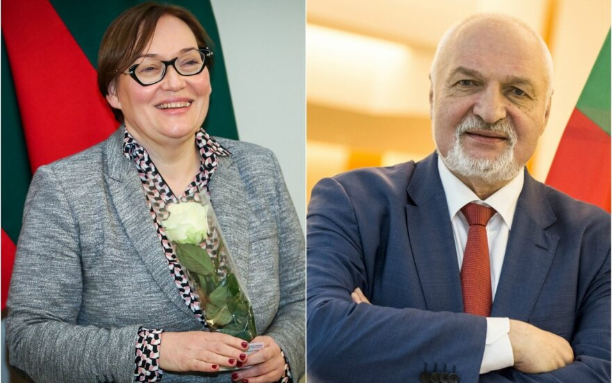 Aušra Maldeikienė ir Valentinas Mazuronis
