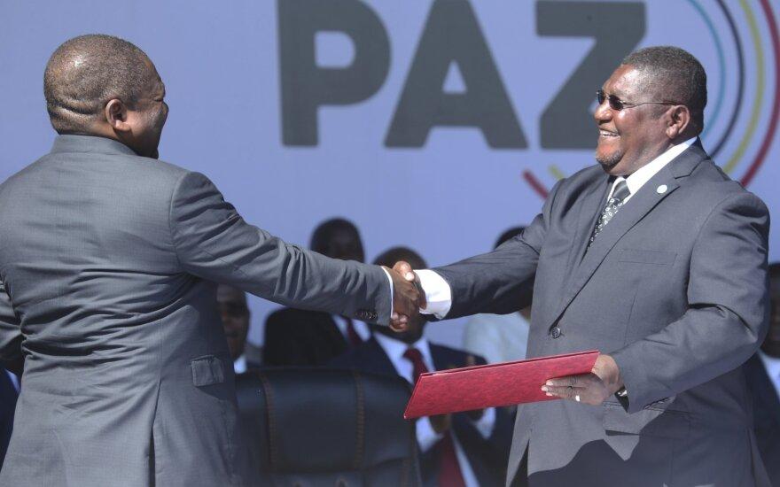 Mozambiko vyriausybė ir opozicija pasirašė istorinį taikos susitarimą