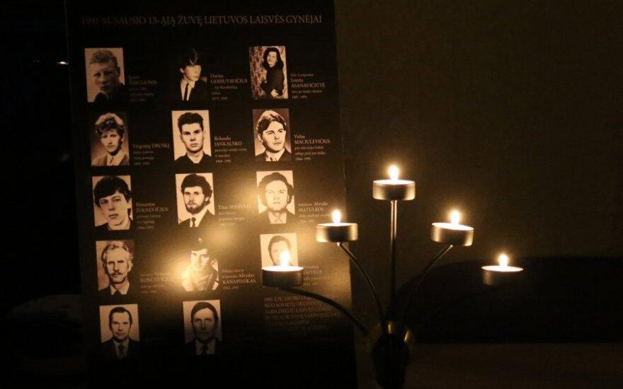 Dar dešimt asmenų pripažinti įtariamaisiais Sausio 13-osios byloje