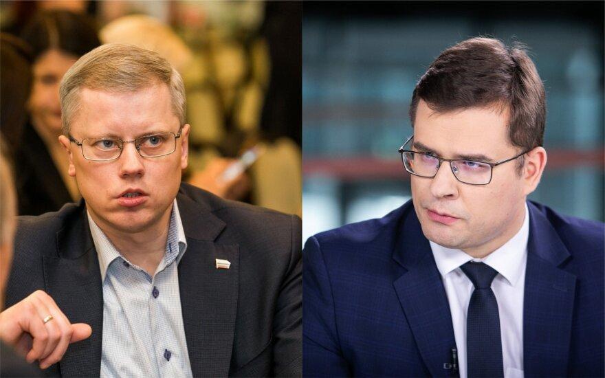 Andrius Kupčinskas, Laurynas Kasčiūnas