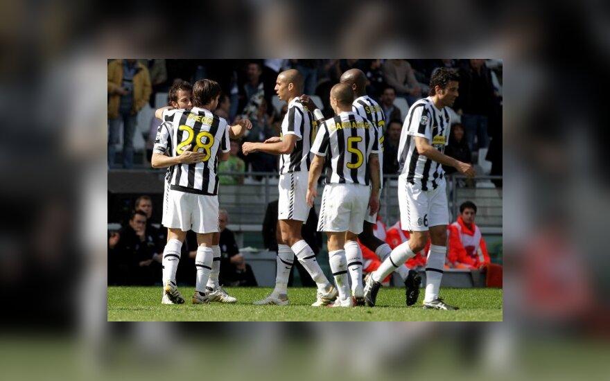 """Turino """"Juventus"""" klubo futbolininkai"""