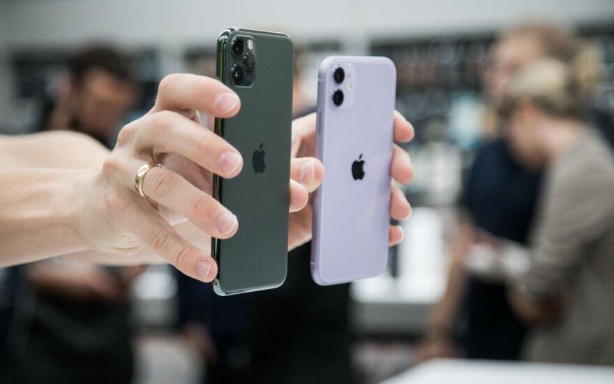 """Pasirodė prognozės, kiek kainuos naujieji """"iPhone 12"""": daug taupyti nereikės"""