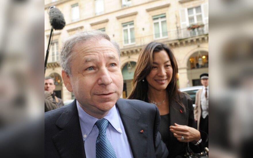 Jeanas Todtas su žmona Michele Yeoh
