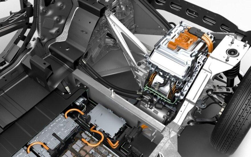 Serijinei gamybai ruošiamas BMW i3
