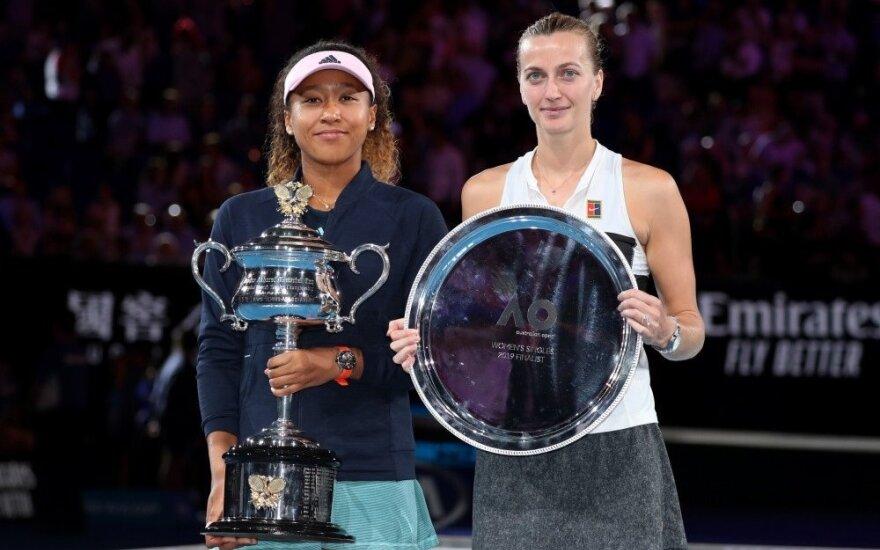"Įtemptame ""Australian Open"" finale – japonės Osakos triumfas"