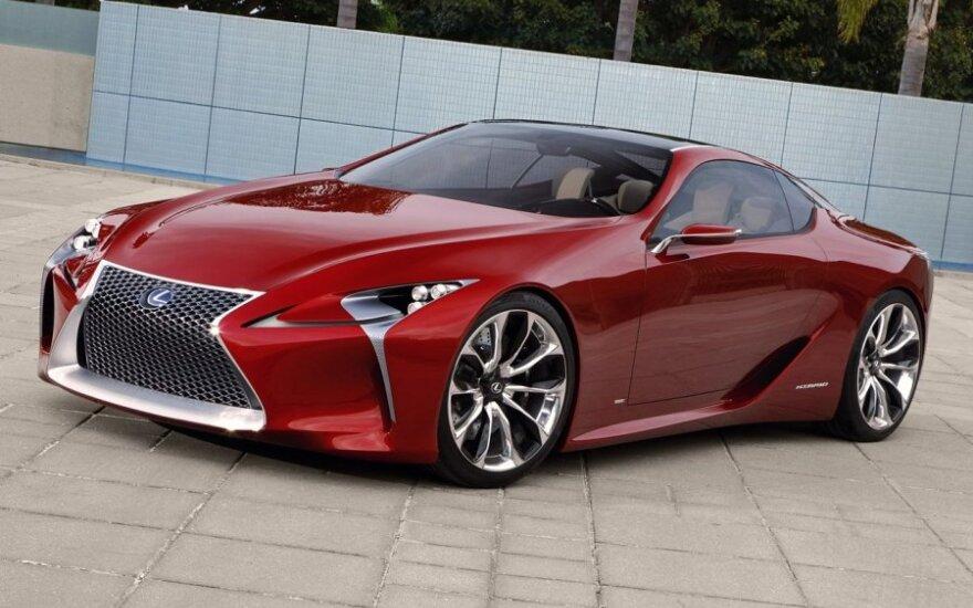 """""""Lexus LC 500"""" koncepcija"""