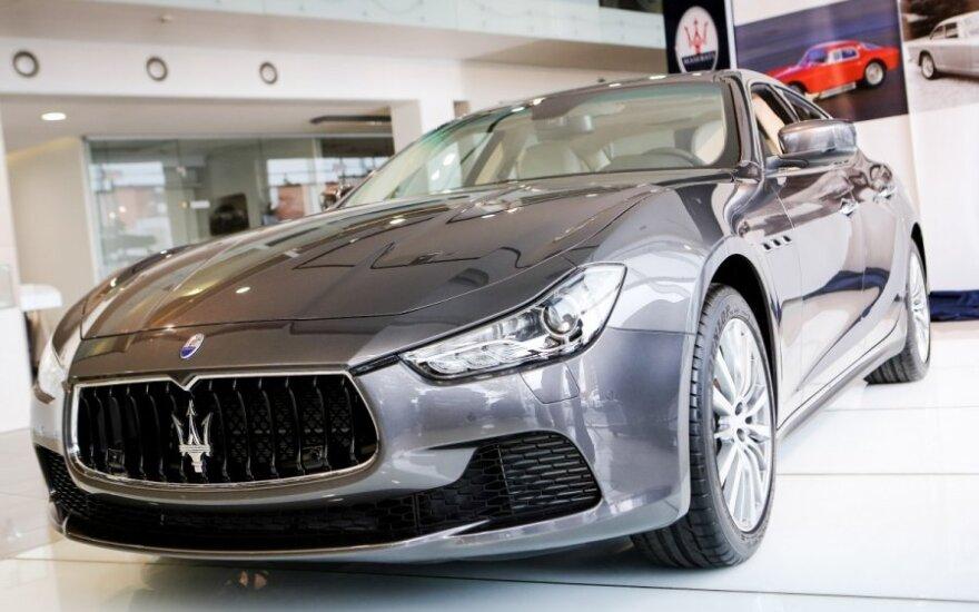 Maserati Ghibli pristatymas Vilniuje