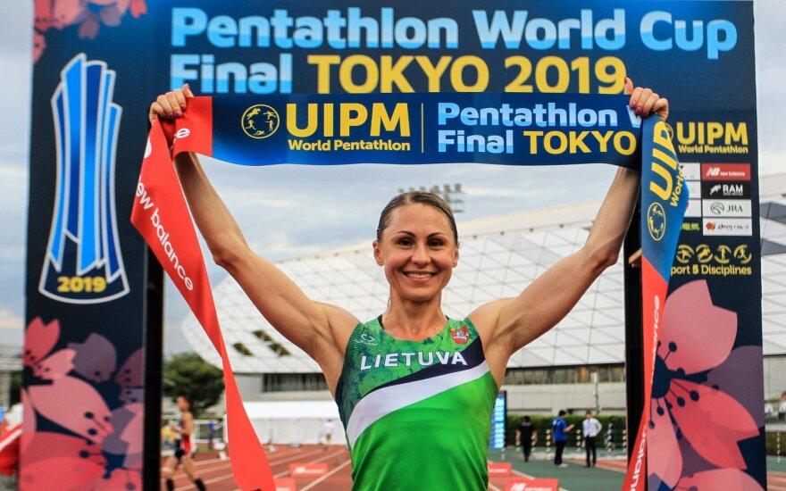 Laura Asadauskaitė-Zadneprovskienė laimėjo pasaulio taurę