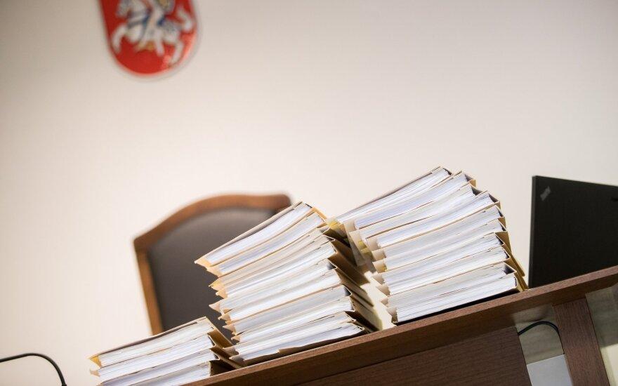 Kaip vyksta bylų paskirstymas teismuose