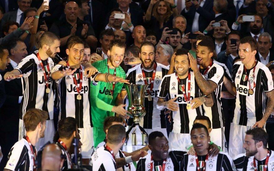 """Turino """"Juventus"""" iškovojo Italijos taurę"""