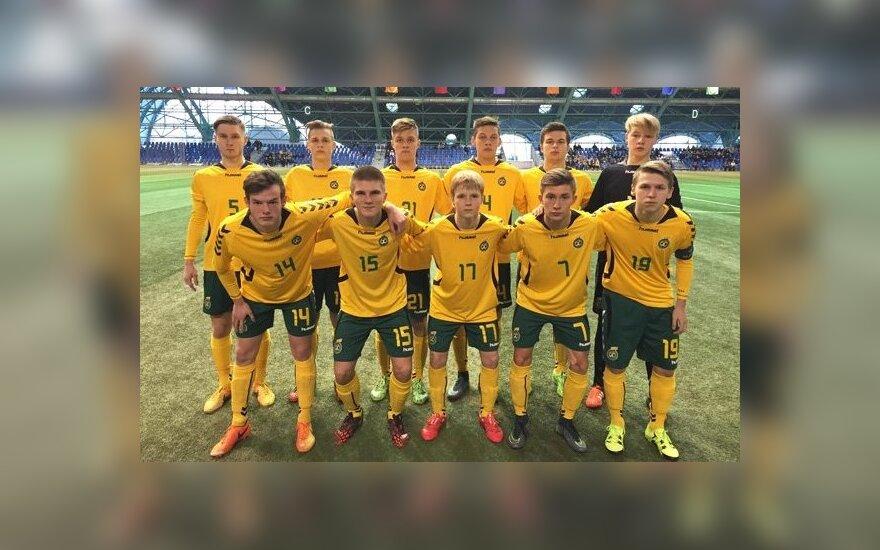 Lietuvos U18 futbolo rinktinė