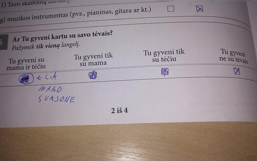 Atsakymas
