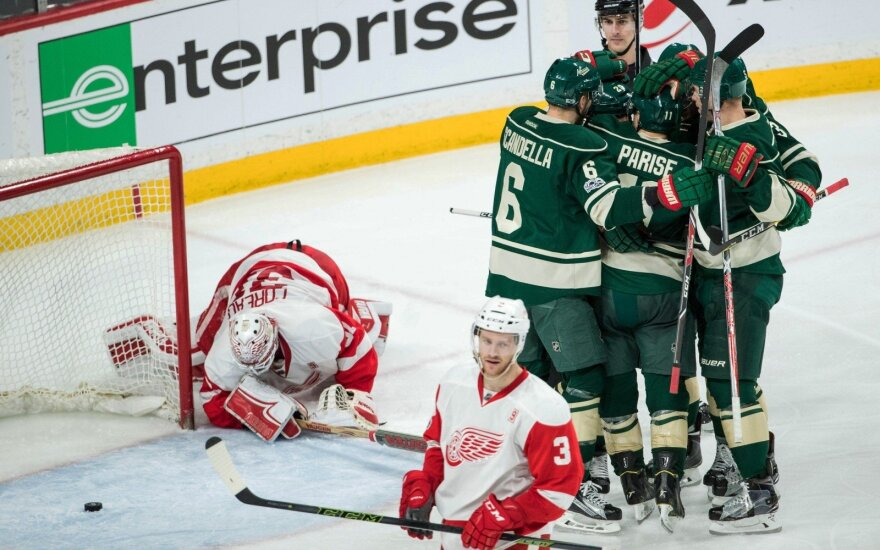 """NHL: """"Wild"""" -  """"Red Wings"""""""