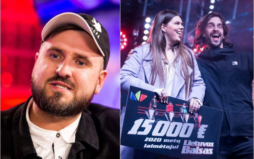 """G.Jaunius, """"Lietuvos balso"""" finalas"""