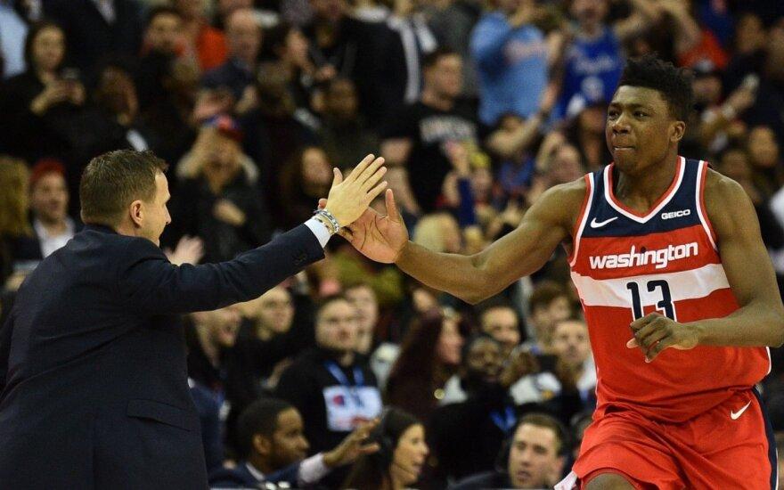 Wizards ir Knicks akistata Londone