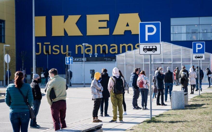 """""""Ikea"""" įžengė į Ukrainos rinką per elektroninę prekybą"""
