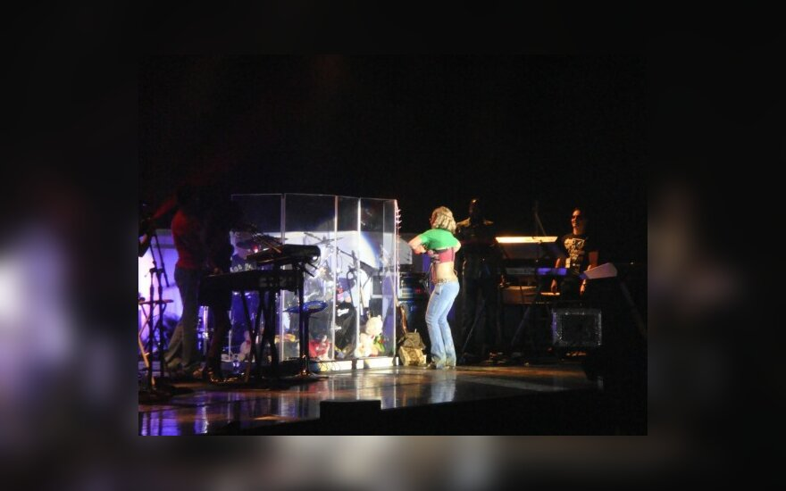 Anastacios koncertas: drama scenoje