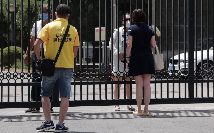Kinijoje – 44 nauji koronaviruso atvejai, 31 jų – Pekine
