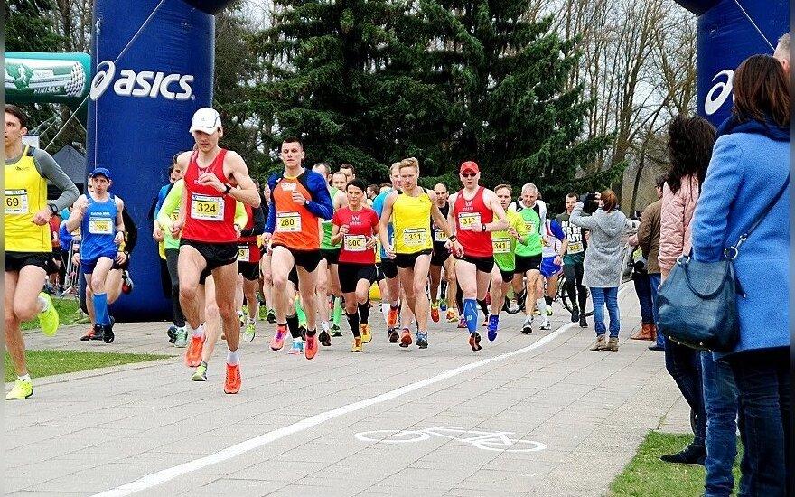 Senvagės bėgimas  (G. Leikos nuotr.)