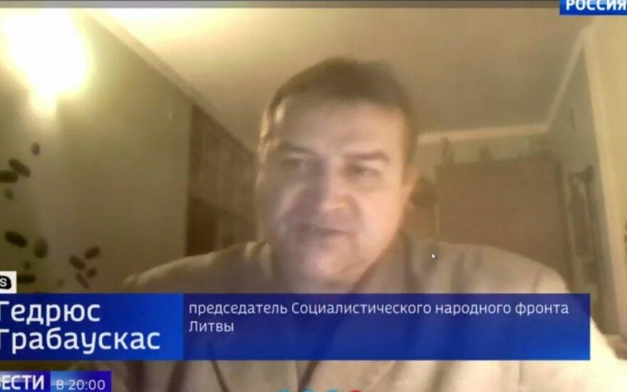 Kasčiūnas kreipėsi į Generalinę prokuratūrą dėl šmeižto Rusijos televizijoje apie Žemaitį-Vytautą