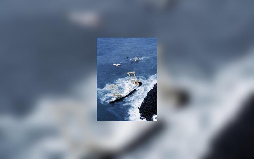 Sinking Oil Tanker