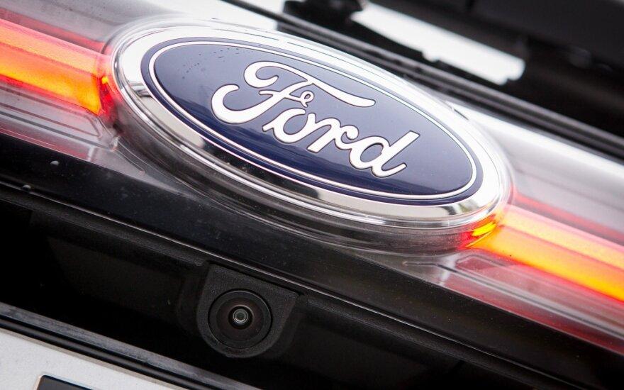 """""""Ford"""" pelnas šiemet jau viršijo prognozę"""