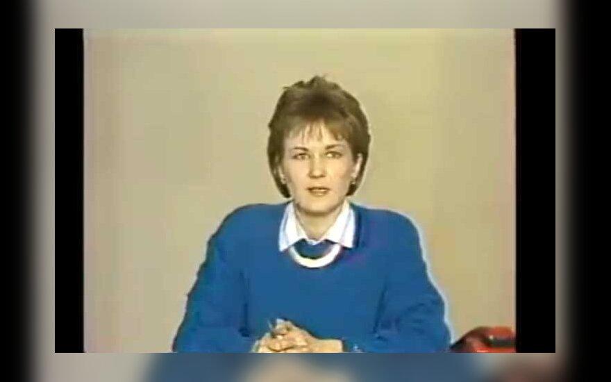 Eglė Bučelytė 1991 m. sausio 13-ąją