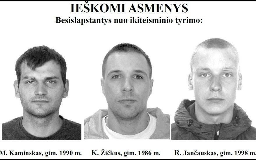 Mindaugas Kaminskas, Karolis Žičkus, Remigijus Jančauskas