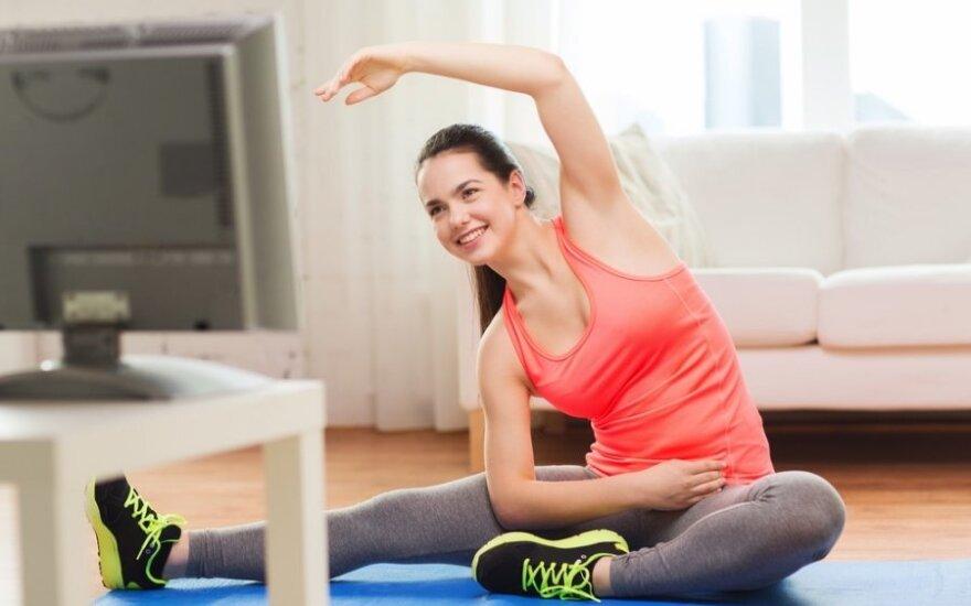 Rytinė mankšta sumažina traumų riziką