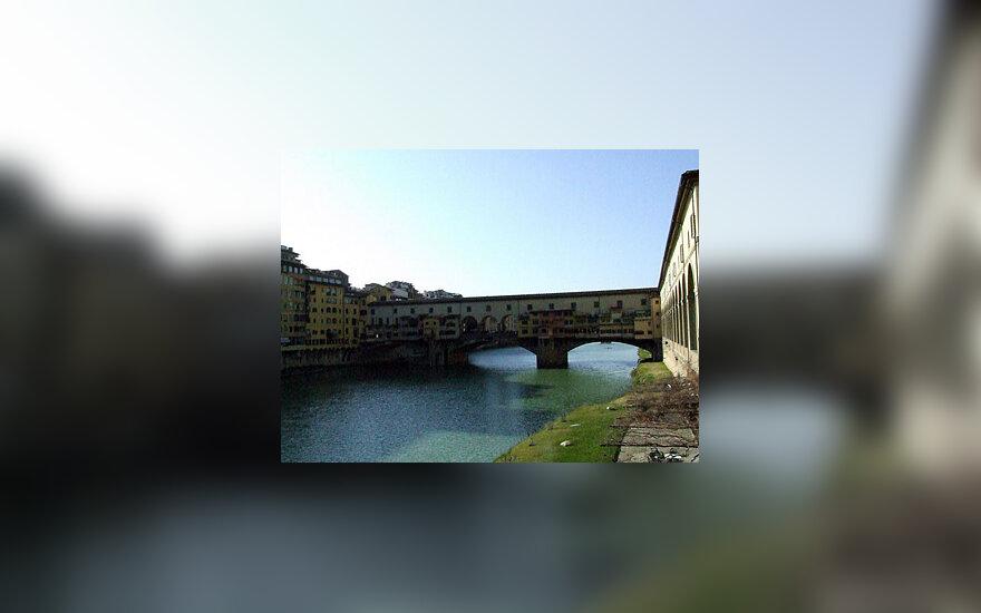 Florencija. Senasis tiltas