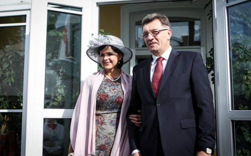 Algirdas Butkevičius su žmona Jolanta