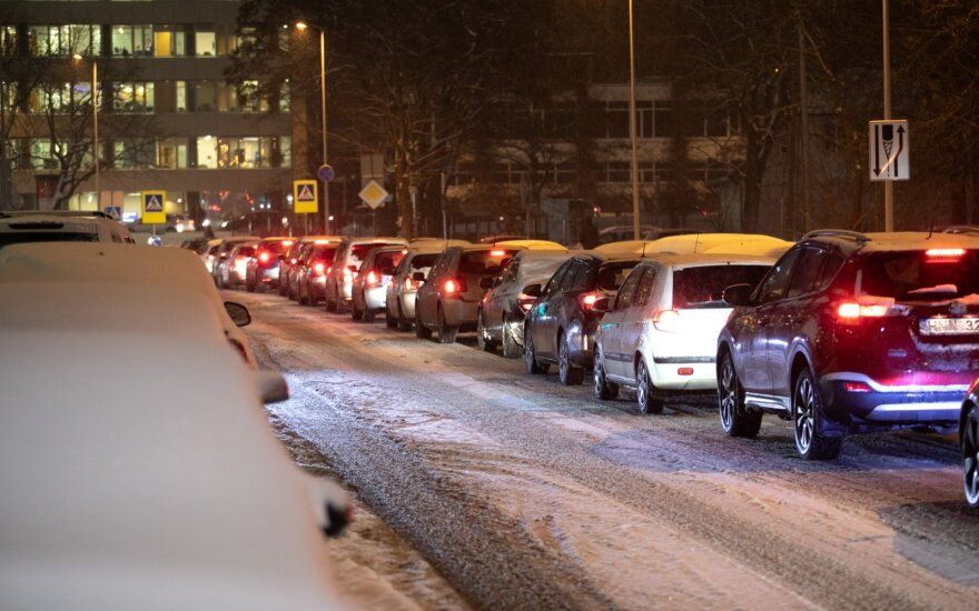 Kelių direkcijos Eismo informacijos skyrius jau dirba žiemos režimu