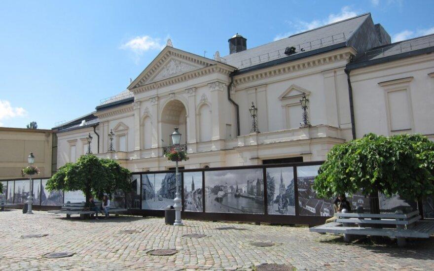 Klaipėdos dramos teatro premjera - senajame teatro pastate