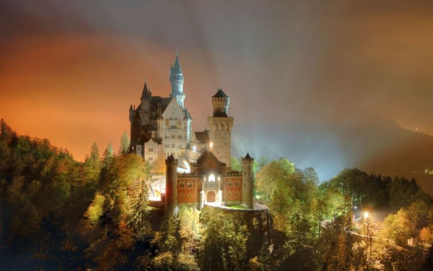 Noišvanšteino pilis Vokietijoje