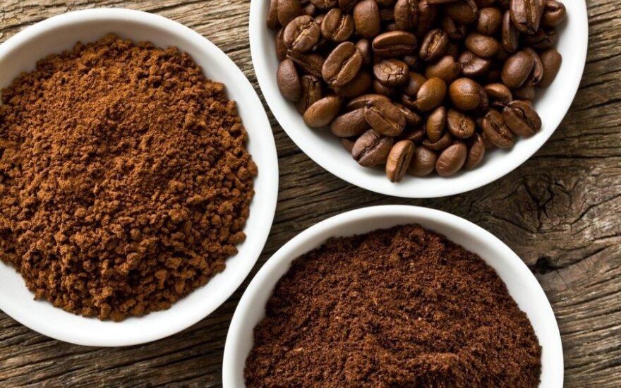Kavos tirščiai – antioksidantų bomba