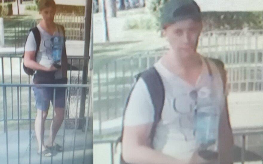 Vilniaus policija prašo pagalbos: ieškomas galimai sunkų nusikaltimą padaręs jaunuolis