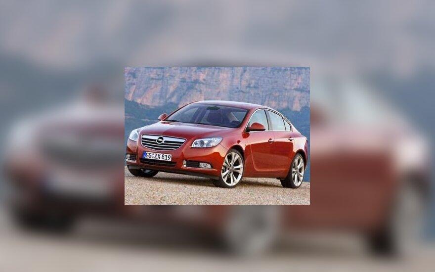 """""""Opel Insignia"""" tapo Europos metų automobiliu"""