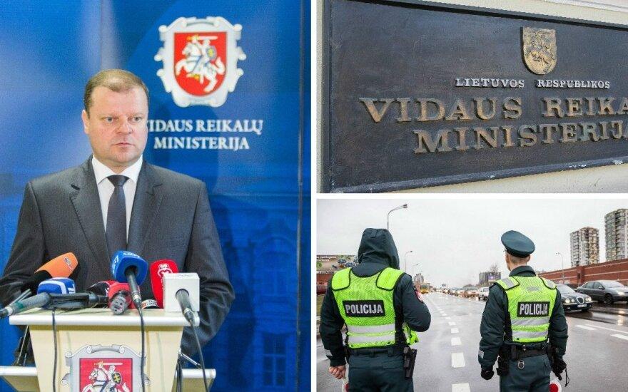 Vidaus reikalų ministerijos pareigūnė: kodėl aš galiu abejoti ministru