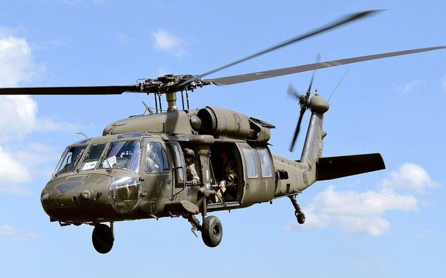 """Sraigtasparnis UH-60 """"Black Hawk"""""""