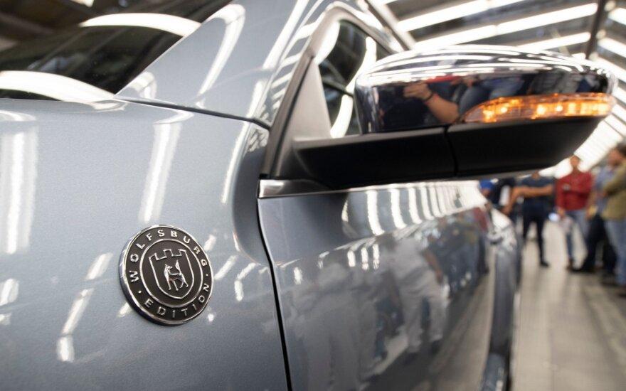 """Baigiama """"Volkswagen Beetle"""" gamyba"""