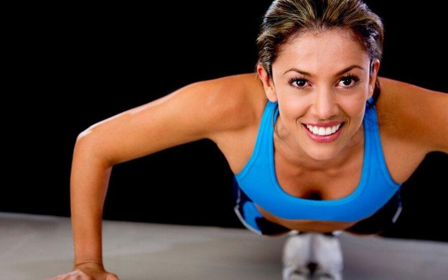4 minučių treniruotė, pakeisianti visą valandą sporto