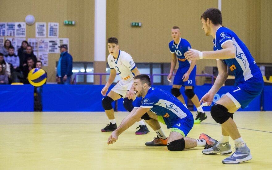 Vilniaus tinklininkai įveikė Talino komandą, šiauliečiai pralaimėjo