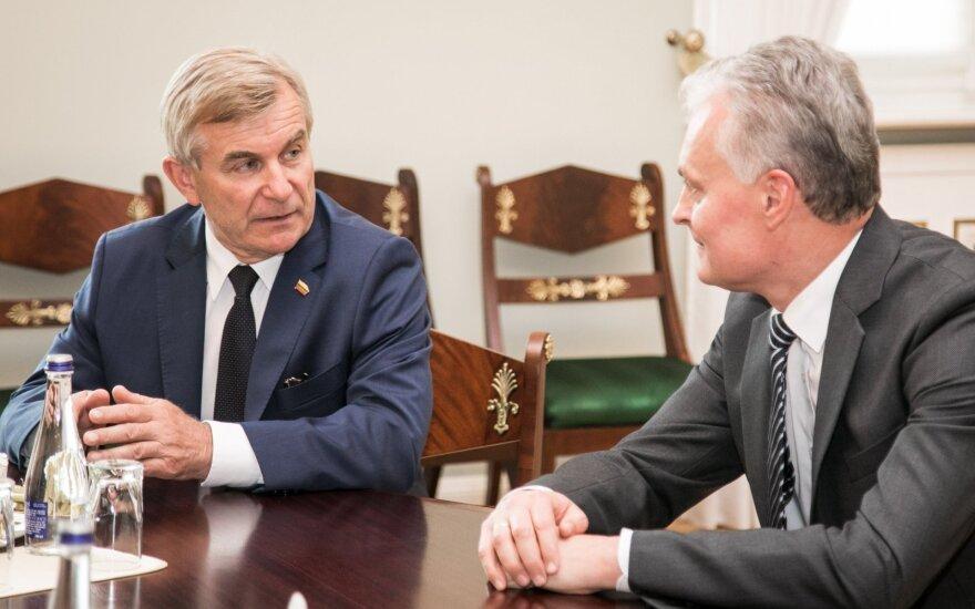 Viktoras Pranckietis, Gitanas Nausėda