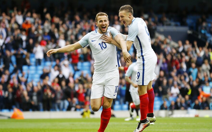 Harry Kane'as ir Jamie Vardy
