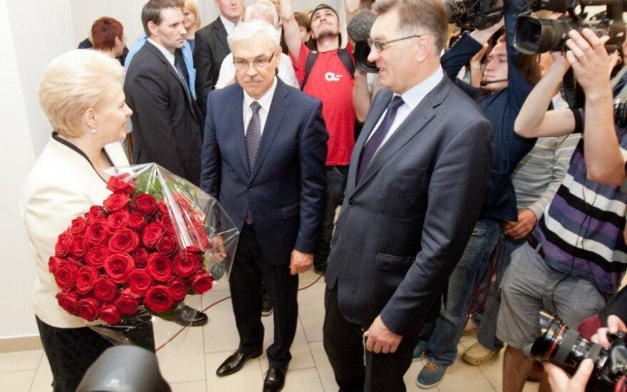 Dalia Grybauskaitė, Zigmantas Balčytis, Algirdas Butkevičius