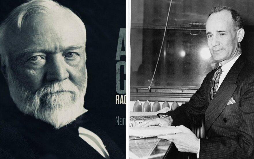Napoleonas Hillas ir  Andrew Carnegie