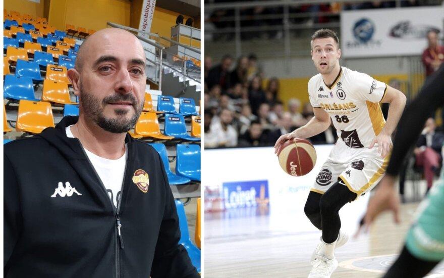Germainas Castano ir Paulius Valinskas