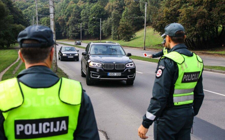 Dėl pažeidimų gausos Kaune bus pratęsta policinė priemonė